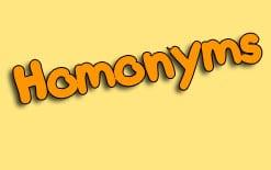 -в-английском-языке 9 пар омонимов английского языка