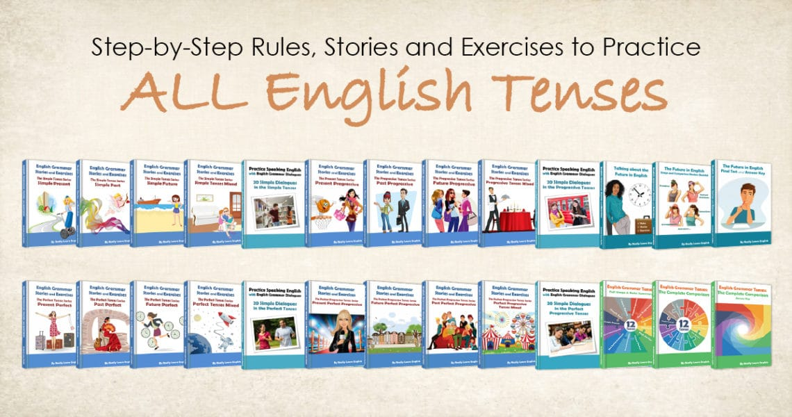 упражнения для развития всех английских времен