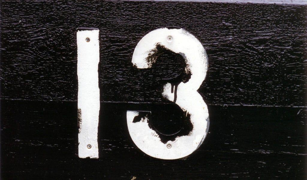 Тринадцать на английском языке