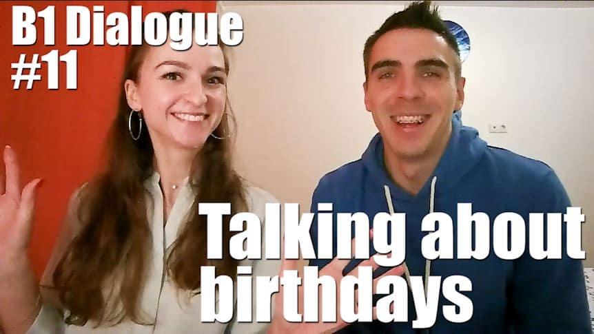Про день рождения на английском